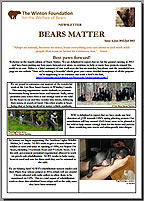 Bears Matter #4 - Jun/Jul 2012